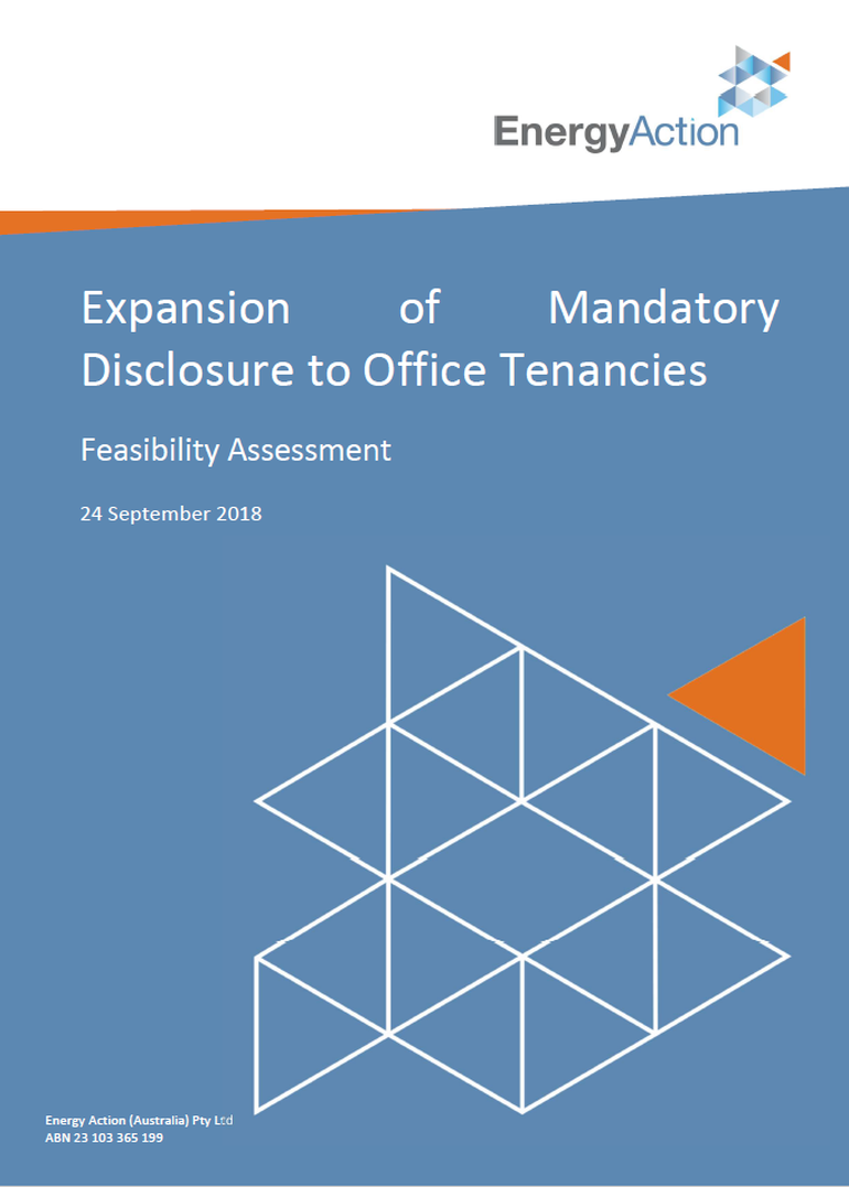 Expansion of Mandatory Disclosure to Office Tenancies