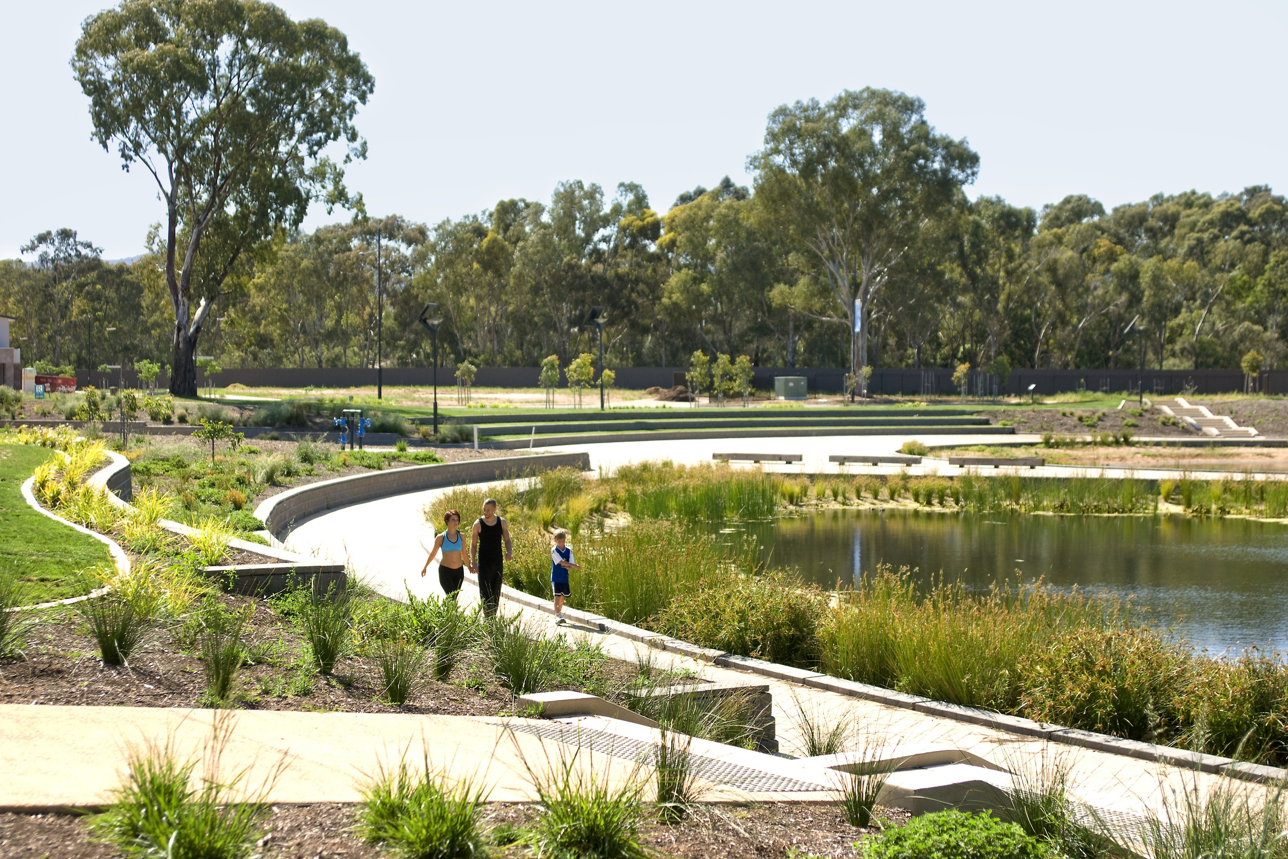 Why use green star green building council of australia for Space landscape construction adelaide