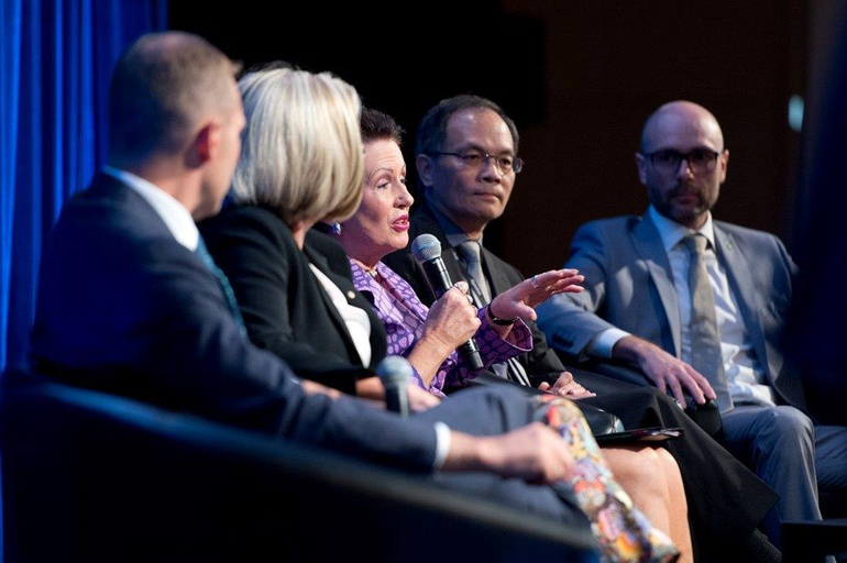 Green Cities 2016 – Rob Stokes, Lucy Turnbull, Clover Moore, Steve Yiu, Mark Watts