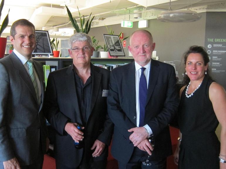 Daniel Grollo, Craig Heaton, Tony Arnel, Romilly Madrew, GBCA Chairs