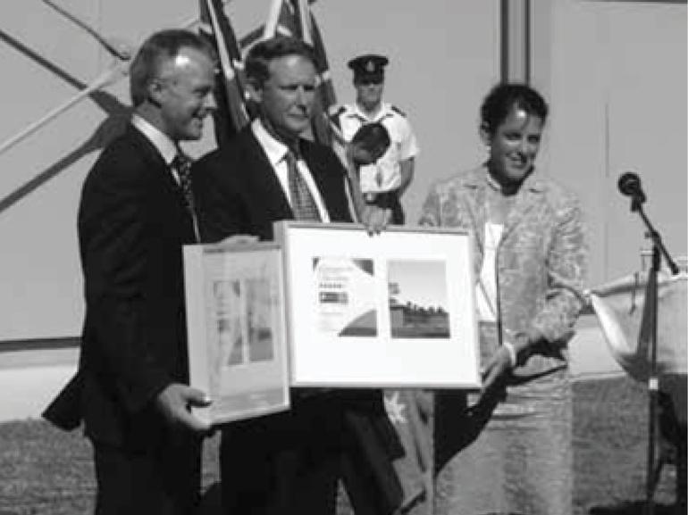 RAAF Richmond Green Star certificate