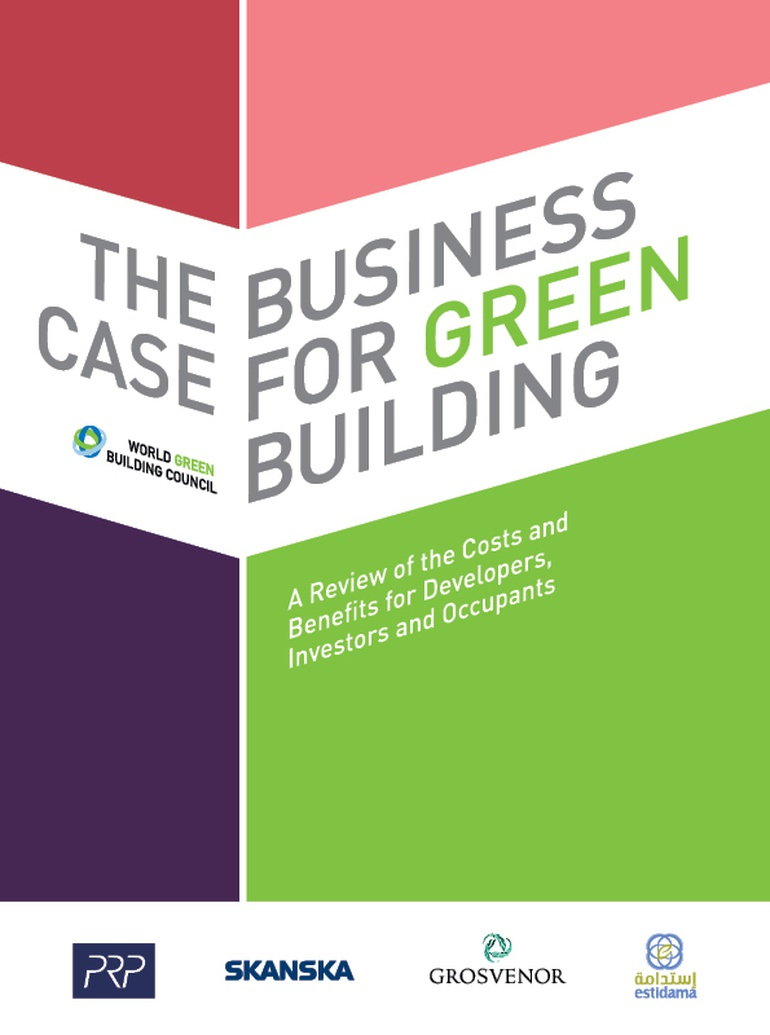business case for green building document wgbc