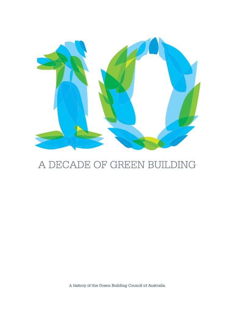 GBCA decade in green building