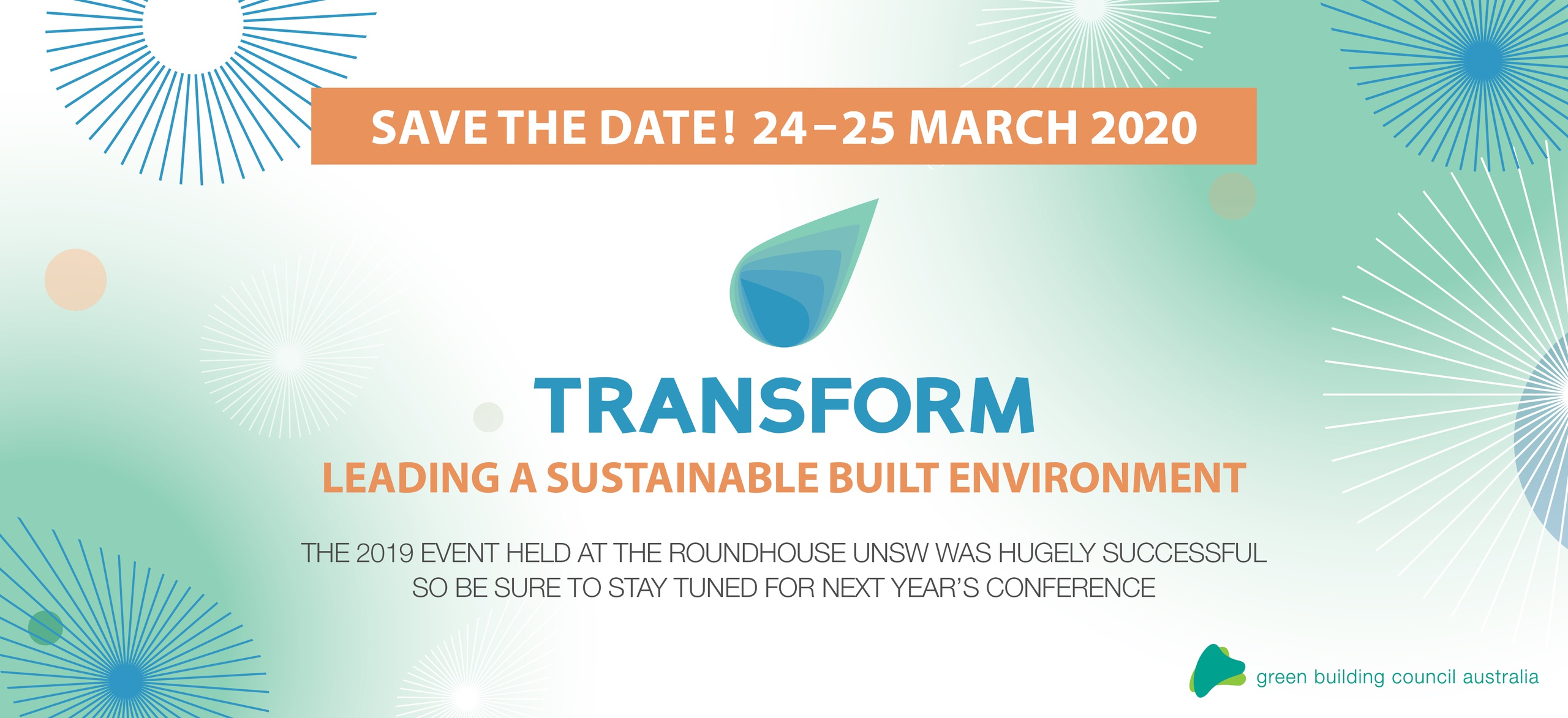 TRANSFORM 2020 save the date